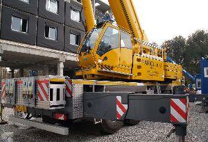Вездеходный кран Grove GMK 5200-1 прибыл в Италию